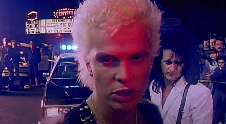 Billy Idol - Don't Need A Gun - Official Music Video