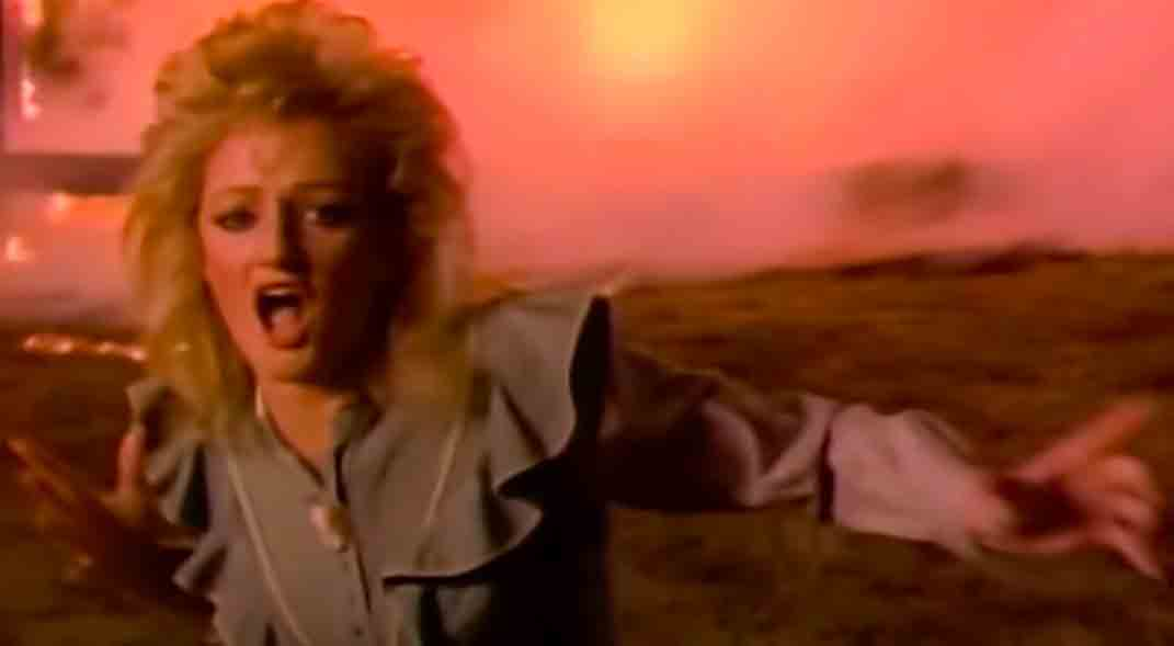 Bonnie Tyler - Holding Out For A Hero - Official Music Video