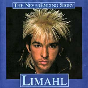Limahl Neverending Story Never Ending Single Cover
