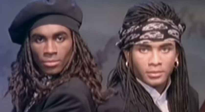 Milli Vanilli - Baby Don't Forget My Number - Official Music Video