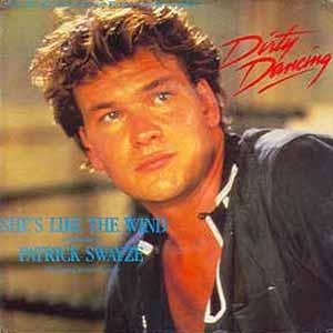 Patrick Swayze - She's Like The Wind - Single Cover