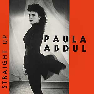 Paula Abdul Straight Up Single Cover