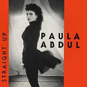Paula Abdul Straight Up Single Cover