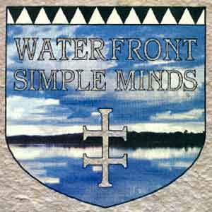Simple Minds- Waterfront - Single Cover