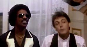 Stevie Wonder Paul McCartney Ebony and Ivory Official Music Video