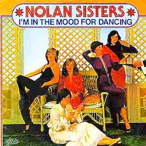 The Nolans - I'm In the Mood for Dancing - Single Cover