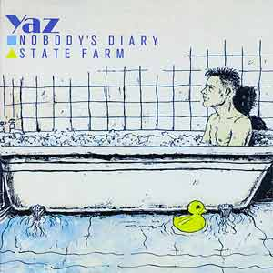 Yazoo Nobody's Diary Single Cover