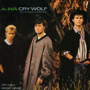 a-ha - Cry Wolf - Single Cover