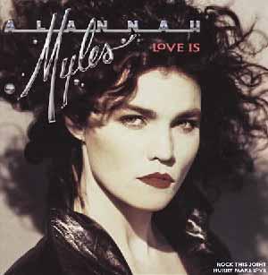 Alannah Myles Love Is Single Cover