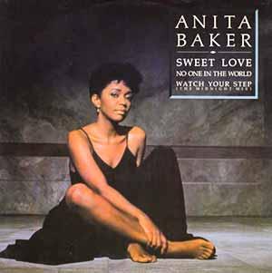 """Anita Baker Sweet Love 12"""" Single Cover"""