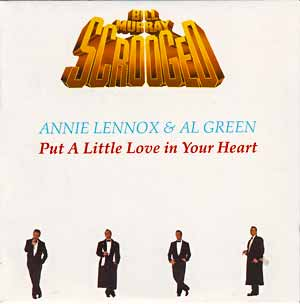 Annie Lennox Al Green Put A Little Love In Your Heart Single Cover