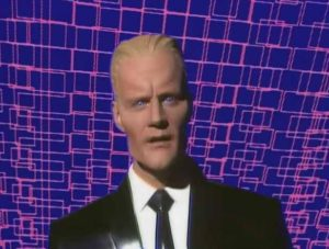 The Art of Noise with Max Headroom - Paranoimia - Official Music Video