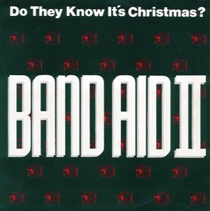Band Aid II - Do They Know It's Christmas? - Single Cover