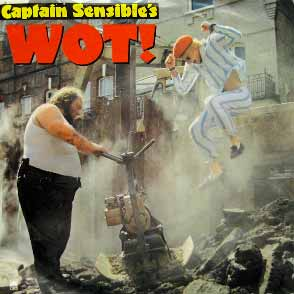 captain sensible wot single cover