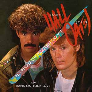 Hall & Oates Method of Modern Love Single Cover