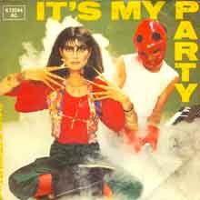 Dave Stewart & Barbara Gaskin - It's My Party - Single Cover