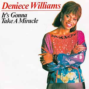 Deniece Williams It's Gonna Take a Miracle Single Cover