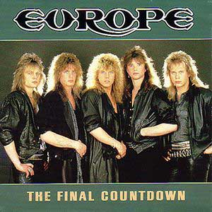 Europe - The Final Countdown - Official Music Video - Single Cover