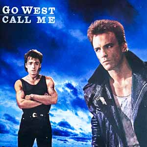 Go West Call Me Single Cover