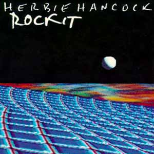 Herbie Hancock Rockit Single Cover