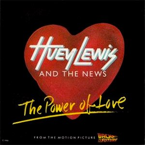 Huey Lewis & The News - The Power Of Love - Single Cover