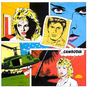 Kim Wilde Cambodia Single Cover