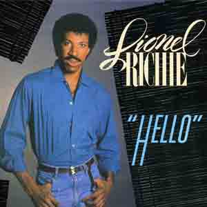 Lionel Richie - Hello - single cover