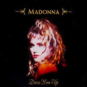 Madonna Dress You Up Single Cover