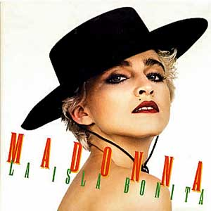 Madonna - La Isla Bonita - Single Cover