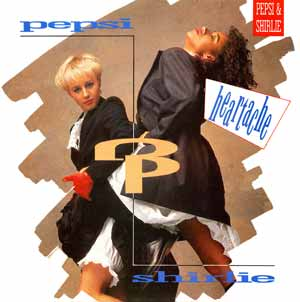 Pepsi & Shirlie - Heartache - Single Cover