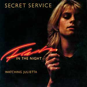 Secret Service Flash in the Night Official Single Cover