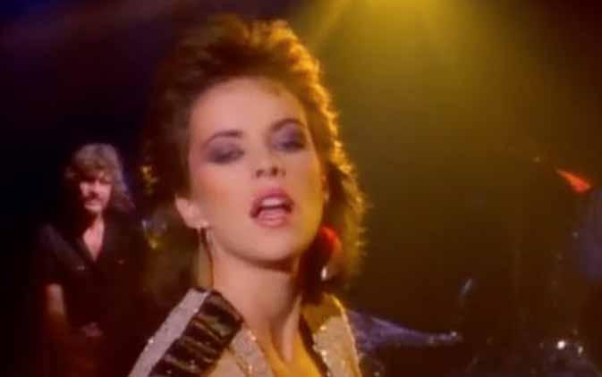 Sheena Easton Strut Official Music Video