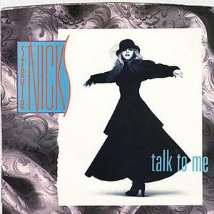 Stevie Nicks - Talk To Me - Single Cover