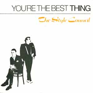 The Style Council You're The Best Thing Single Cover