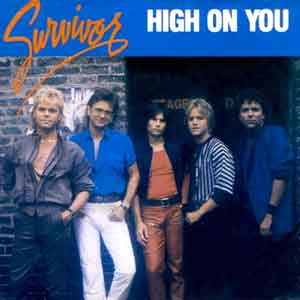 Survivor - High On You - Single Cover