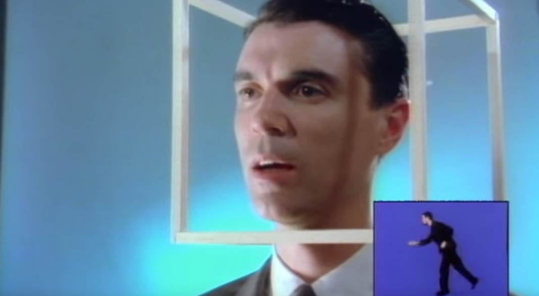Talking Heads - Road To Nowhere - Official Music Video