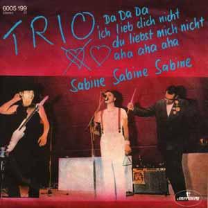 Trio Da Da Da Official Single Cover