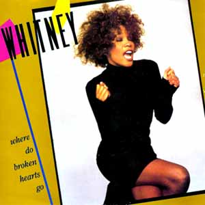 Whitney Houston - Where Do Broken Hearts Go - Single Cover