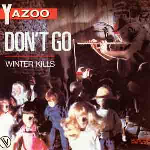 Yazoo - Don't Go - Single Cover