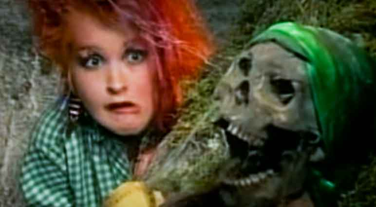 Cyndi Lauper - The Goonies 'R' Good Enough - Official Music Video