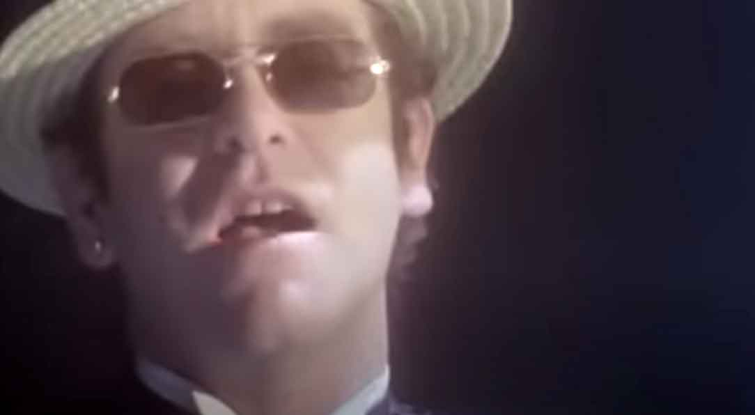 Elton John - I Guess That's Why They Call It The Blues - Official Music Video