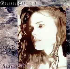 Belinda Carlisle - Summer Rain - Single Cover