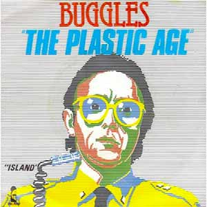 The Buggles Living In The Plastic Age Single Cover