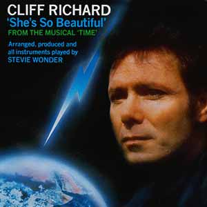 Cliff Richard She's So Beautiful Single Cover