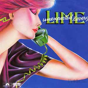 Lime Unexpected Lovers Single Cover
