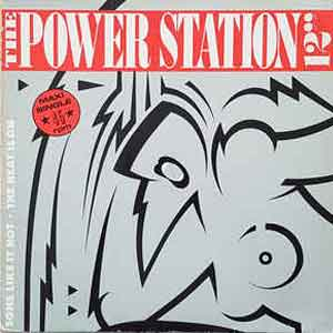 The Power Station - Some Like It Hot - Single cover