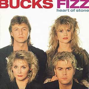 Bucks Fizz - Heart Of Stone - Single Cover