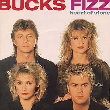 Bucks Fizz - Heart Of Stone - Single Cover