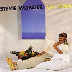 Stevie Wonder - Go Home - Official Music Video - Single Cover
