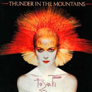 Toyah - Thunder In The Mountains - Single Cover